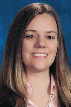 Science teacher Carrie Beth Rykowski of Cumming, Georgia