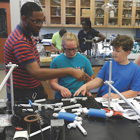Science and Engineering Enrichment Programs for K-12 students