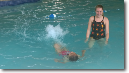 Horizons@GT Learning to swim